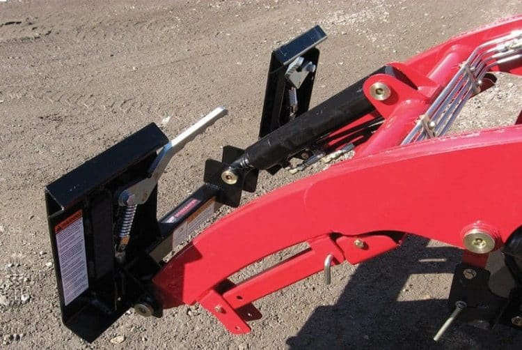 Mahindra-TYM-Sub-Compact-Quick-Attach-Loader-Conversion