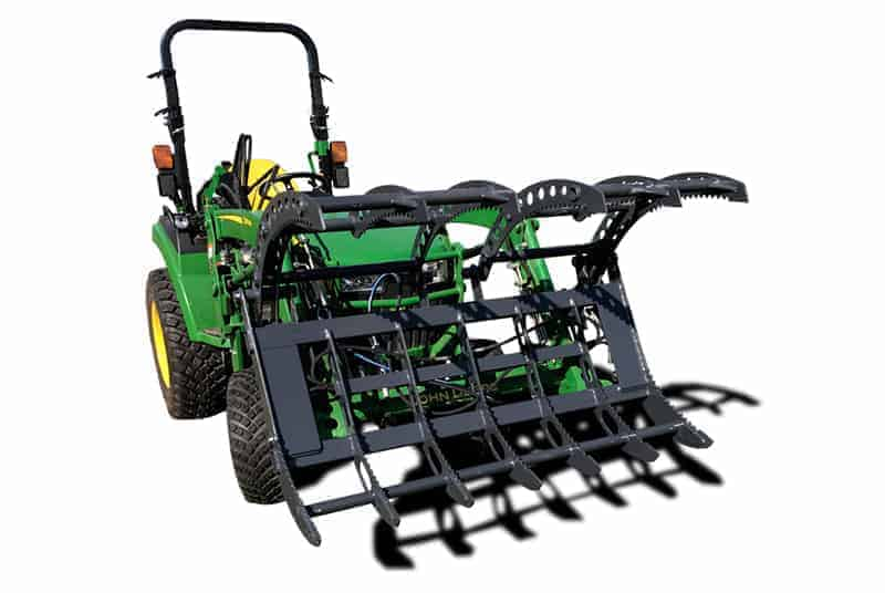 mini grapple for compact tractor