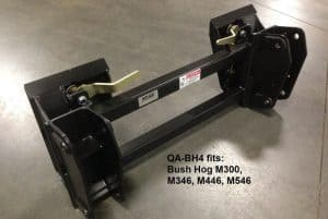 tractor-quick-attach-for-Bush-Hog-loader-M300-M346-M446-M546