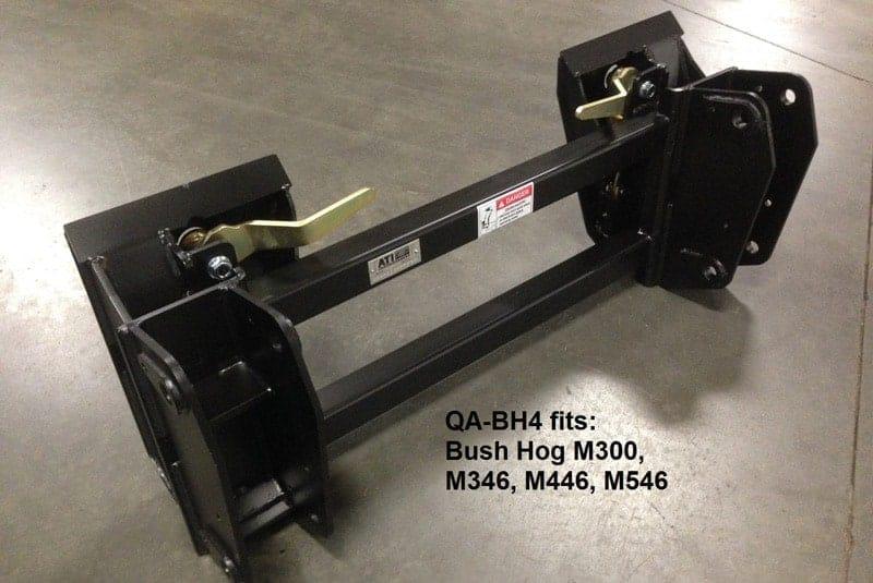 Tractor Quick Attach Conversion Kit Bush Hog M300 Ask