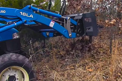 using a tree puller