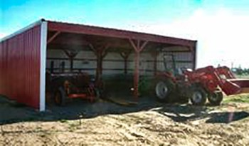 farm machine shed 2
