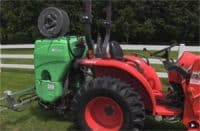 land champ for spraying fence lines
