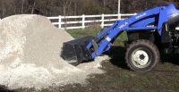 front end loader tractor option