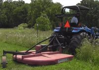 brush hog size to match tractor