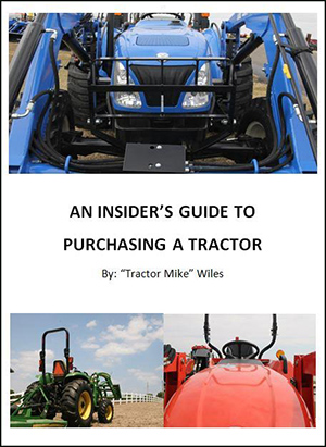 insider's guide to purchasing a tractor