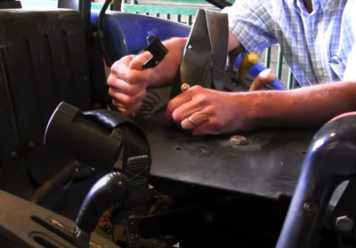 safety switch in tractor seat